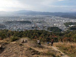 大文字山火床からの眺め